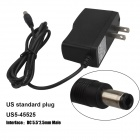 SingFire US5-45525 US Plugs AC Power Adapter - Black (DC 5.5 x 2.5mm / 100~240V / 115cm-Cable)