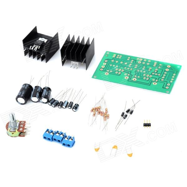TDA2030A DIY Double Channels Audio Power Amplifier Board Kit - Green wholesale new 2pcs nap 140 classic naim clone audio power amplifier 100w 100w 4ohm 40v diy kit