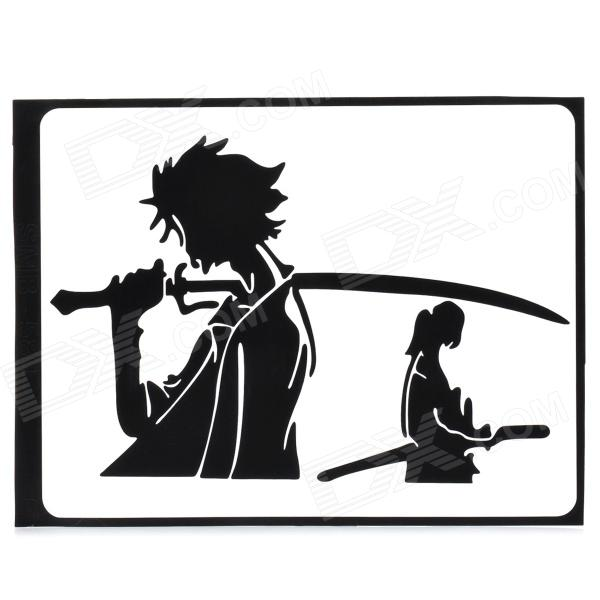 Creative Samurai Pattern Decoration Sticker for MacBook 11