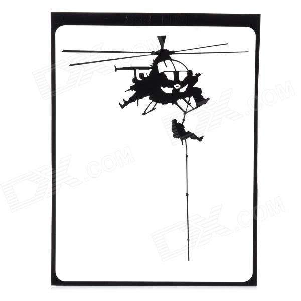 Creative Helicopter Pattern Decoration Sticker for MacBook 11