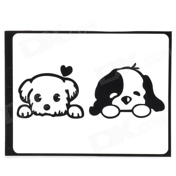 Cute Dogs Pattern Decoration Sticker for MacBook 11