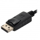 Display Port Male to VGA Female Cable - Black (20cm)