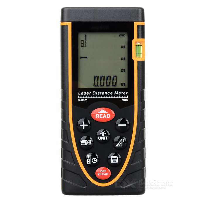 RZ70 Handheld Laser Distance Meter - Black + Yellow yes yes relayer cd dvd