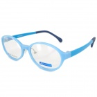 MINGDUN 7205 TR Frame + PC Lens Eyeglasses for Children - Blue