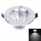 "ZIYU ZY-0810-022 3W 250lm 6500K White Light 2.5"" Ceiling Lamp - White + Black + Silver (AC 85-265V)"