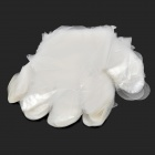Zhenxing HQS-G106238 Disposable HDPE Gloves - White (100 PCS)