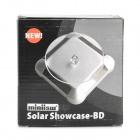 Miniisw BD-B Solar Powered 360 Degree Rotary base de exibição - Preto