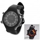 TVG KM-1202 Sport Zinc Alloy Digital Wrist Watch w/ Calendar / Timer / LED for Men - Black