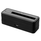 Mini Dock Charger for Samsung Galaxy Note 3 / N9000 / N9002 + More - Black (5V)