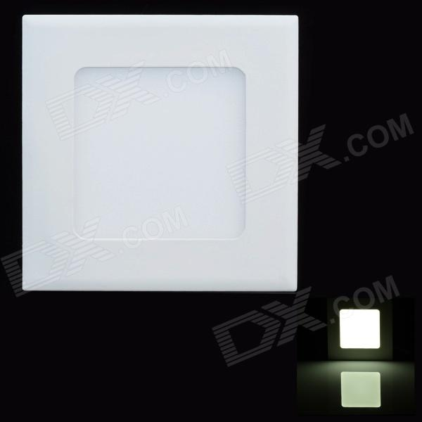 Square Style 6W 330lm 6000K White Light LED Panel Ceiling Light w/ LED Driver - White (AC 110~240V) 2017 acrylic modern led ceiling lights fixtures for living room lamparas de techo simplicity ceiling lamp home decoration
