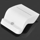 S Style 2-in-1 USB Charging Dock + Battery Charger w/ USB Data Cable for Samsung i9200 - White (5V)