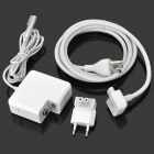 "Replacement 60W Power Adapter for Apple Macbook Pro 13.3"" - White (EU / US Plug)"