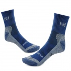 Naturehike SM02 Outdoor sports Thicken Breathable Men's Socks - Deep Blue (Pair / Size-39~43)