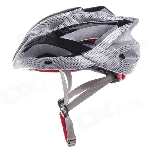 TITANS CG03DG-001 Cool Mountain Bike Cycling Helmet - Grey + Black (Size-L)