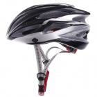 TITANS CG03DG-012 Cool Mountain Bike Cycling Helmet - Black + Silver (Size-L)