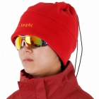 Winter Warm Polar Fleece Hat - Red