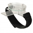 Protective Cover Cap for GoPro Hero 3 / 3+ Lens - Black + Transparent