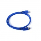 ULT-unite ULT-0223 USB 3.0 Gold Plated Connectors Speed Print Cable - Blue(1m)
