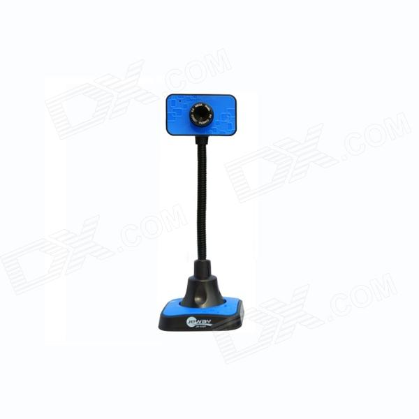 Jeway JW-5329 High 2.0 MP USB Computer Webcam - Blue + Black (130cm-Cable)