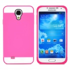NX CASE Detachable Protective PC + TPU Back Case for Samsung Galaxy S4 i9500 - Deep Pink + White