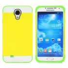 NX CASE Detachable Protective PC + TPU Back Case for Samsung Galaxy S4 i9500 - Yellow + Green +White
