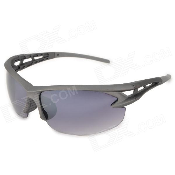 XIDUNLANG 951 UV400 Protection PC Frame Resin Lens Sunglasses for Men - Grey