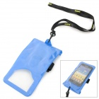 "Tteoobl T-06C Waterproof Pouch Bag for 4.5~5.5"" Cell Phones - Blue"