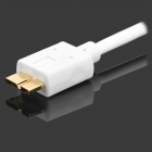 S-What Gold-Plated USB 3.0 to Micro-B Charging Data Cable for Samsung Galaxy Note 3 / N9000 - White