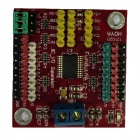 5V Funduino Control I2C to GPIO Module / Dual-way Digital I/O Ports I2C Bus + Power - Red
