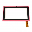 Replacement Front Shell + Screen for Allwinner A13 Q8/A7 /M700 / Witcool X5 - Pink