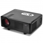CL720 Portable LCD Analog RGB Projector w/ LED Lamp / AV / HDMI / VGA / S-Video / YPbPr - Black