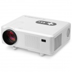 CL720 Portable LCD Analog RGB Projector w/ LED Lamp / AV / HDMI / VGA / S-Video / YPbPr - White
