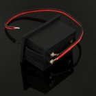 "Water Resistant 0.56"" 3-Digit Red LED Voltmeter - Black (DC 4.5-150V)"