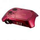 EJIALE EJL010 480 x 240 Portable Home Theater DVD Projector w/ TV + USB + SD - Red