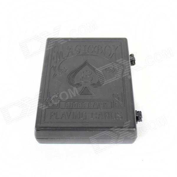 Magic Poker Box Magic props - Black