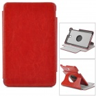 Stylish PU Leather Case w/ 360' Rotating Back + Auto Sleep + Holder for ASUS ME173 - Brown
