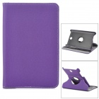 Protective 360 Rotation PU + Plastic Case for Asus ME371 - Purple