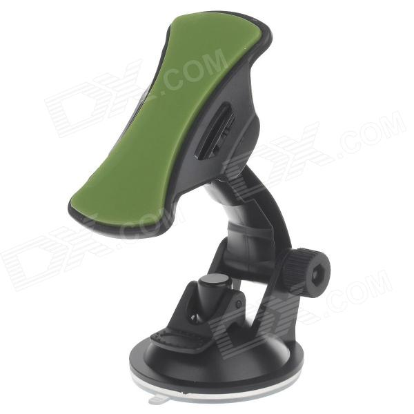 180 Degree Rotation Suction Cup Holder w/ Silicone Back Clip for Iphone 4/4S / 5 / Ipad MINI / Ipod h08 360 rotation 4 port suction cup holder w silicone back clip for iphone 4 4s 5 ipad mini ipod