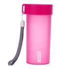 EYKI H5007 High-quality Leak-proof Frosted Bottle - Deep Pink (350mL)