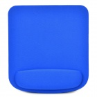 Stylish Cloth + EVA Mouse Pad w/ Wrist support - Black + Blue