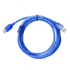 USB 2.0 Male to Female Extension Cable - Blue (280cm)