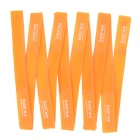 Nylon Strap Power Wire Management Cable Tie Organizer - Orange (10 PCS)