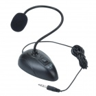 Denker 018 High Sensitivity Noise-Cancelling Flexible Desktop Microphone - Black