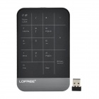 LOFREE MT-100 2.4G 17-Key Touch-Panel - Schwarz