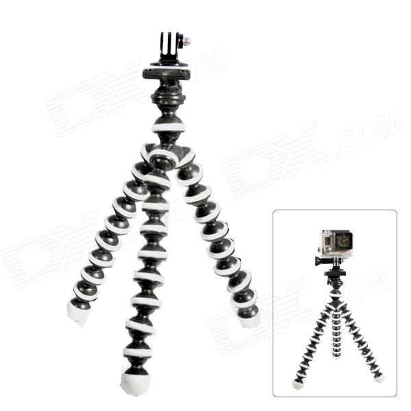 10-Inch Octopus Tripod for Gopro Hero 4 / 3+ / 3 / 2 / 1 / SJ4000 + Universal Cameras