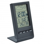 DTH-22 2.7'' LCD Digital Calendar Hygro-Thermometer / Humidity & Temperature Gauge - Black