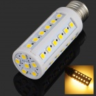 E27 6W 700LM 3200K 42-5050 SMD LED Warm White Tone Iight Corn Iights - Silver + White (220V)