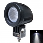 LML-0410Y 60 Degrees Flood Beam 10W 850lm 6500K White Car LED Light w/ CREE XM-L U2 - Black (10~30V)