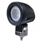 LML-0410Y 60 Degrees Flood Beam 10W 850lm 6500K White Car LED Light com CREE XM-L U2 - Preto (10 ~ 30V)