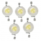 WT-GW1 1W 100lm 6200K White Light LED Light Chip  - White (5 PCS / 3.2-3.4V / 350mA )
